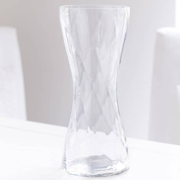 Clear Glass Vase 1