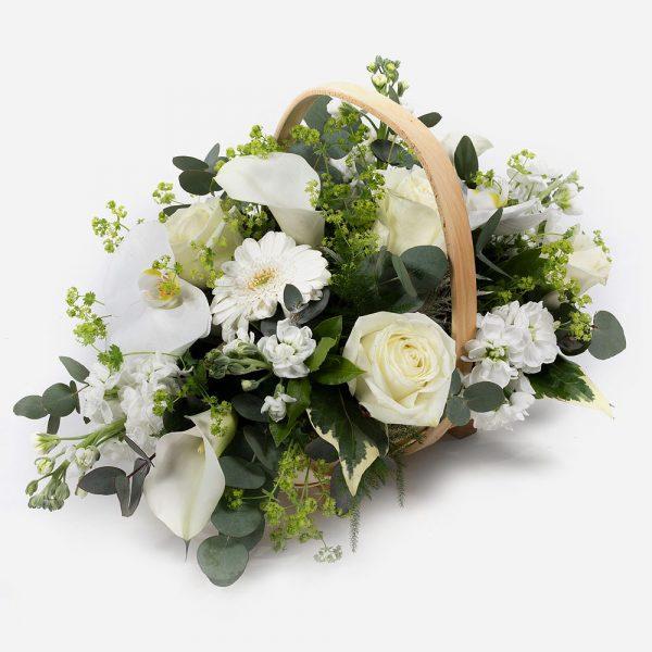 Scented Moonlight - Whites & Creams Basket - Best Buds Florist