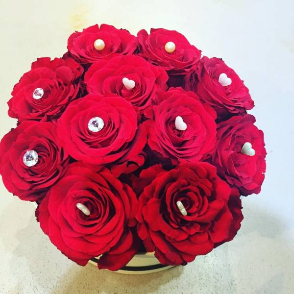 Lovely Roses Hatbox 1