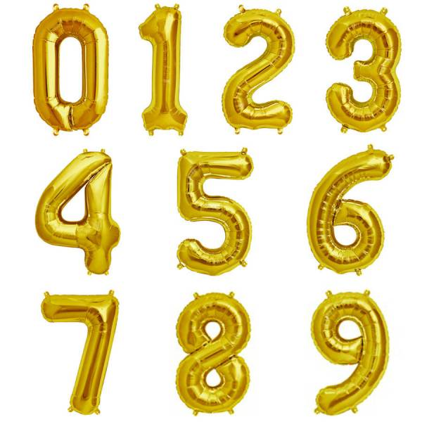 Balloons - Numbers 1