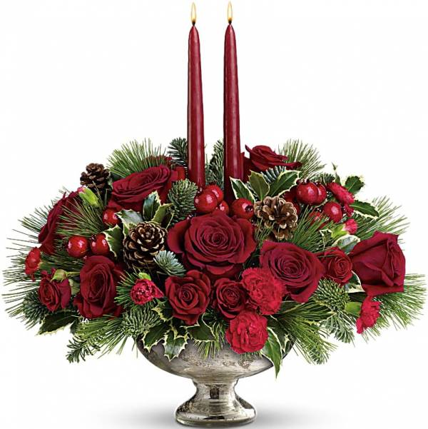 Elegant Christmas Arrangement 1