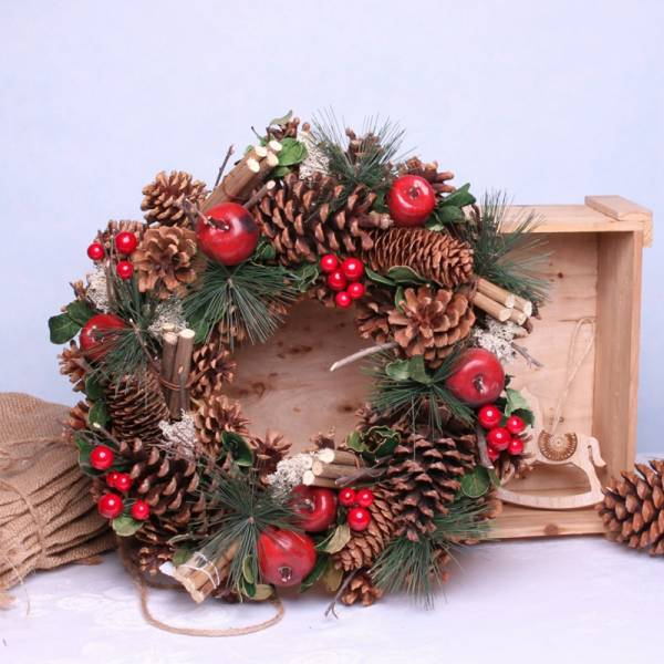 Woodland Fruits Wreath 1