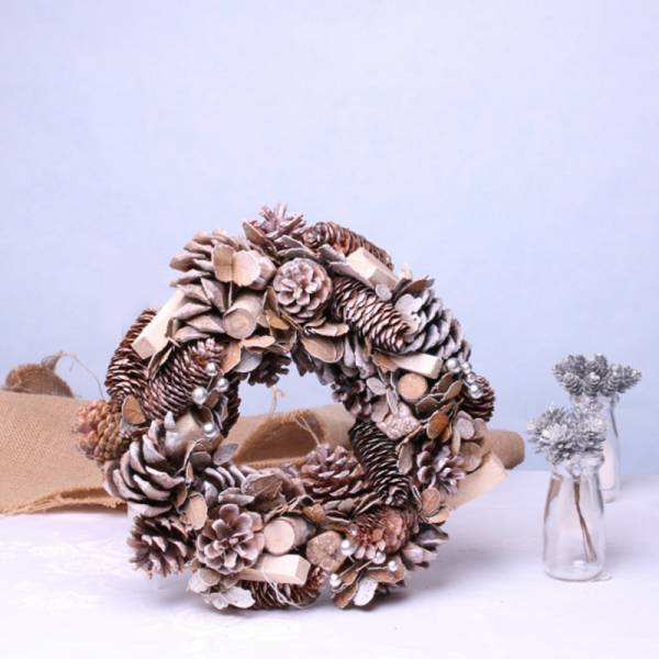 Natural Woodland Wreath 1