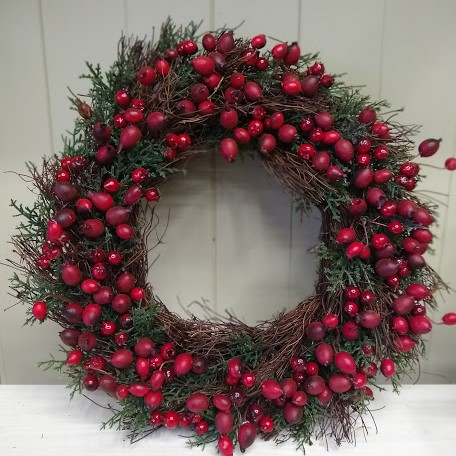 Natural Berries Wreath 1